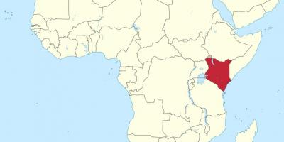 Cartina Africa In Italiano.Kenya Mappa Mappe Kenya Africa Orientale Africa